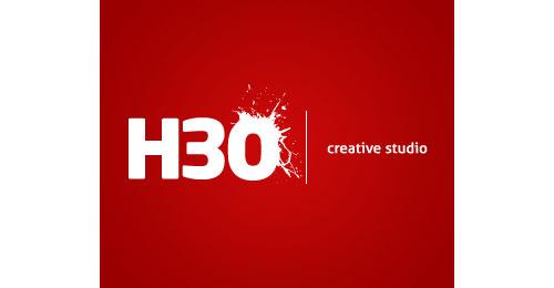 H3O logo