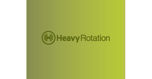 Heavy rotation logo