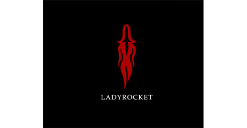 Lady rocket logo from Show me some well designed logos! #29