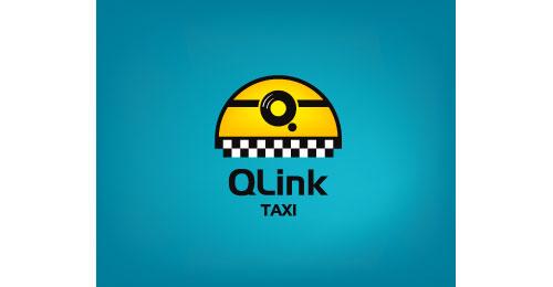 QLink Taxi logo