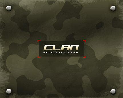 Paintball Club Wallpaper Photoshop tutorial