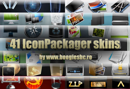 41 of the best IconPackager skins