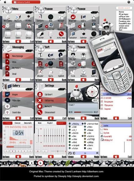 Amora Guikit Nokia theme
