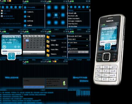 D.O.T Glow 2008 Nokia theme