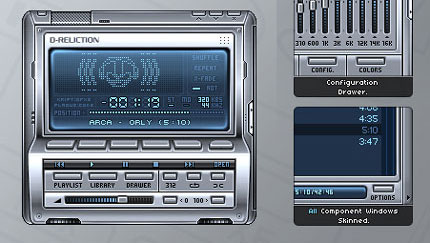 D-Reliction WinAmp Skin