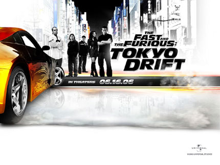 The fast and furious - Tokio Drift wallpaper