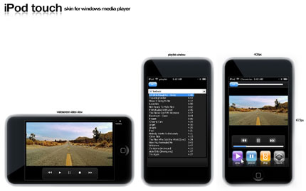 Ipod Touch Windows Media Player skin