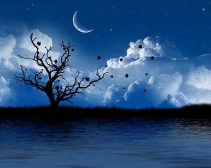 Late at night wallpaper