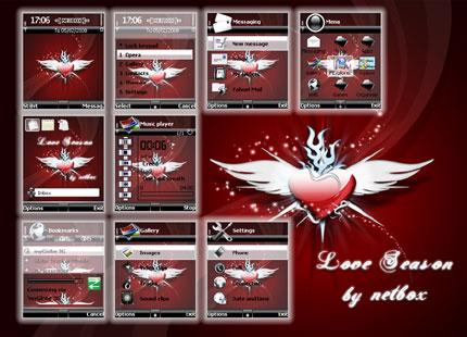 Love Season Nokia theme