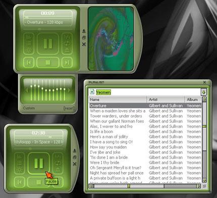 M-Pad Media Windows Media Player skin
