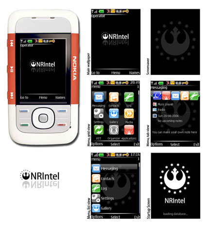 New Republic Nokia theme