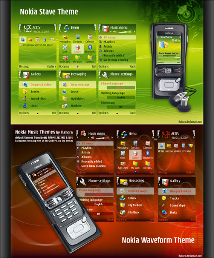 Nokia Music Themes