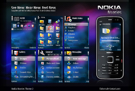Nseries theme 2 Nokia theme