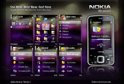 Nseries theme 3 Nokia theme