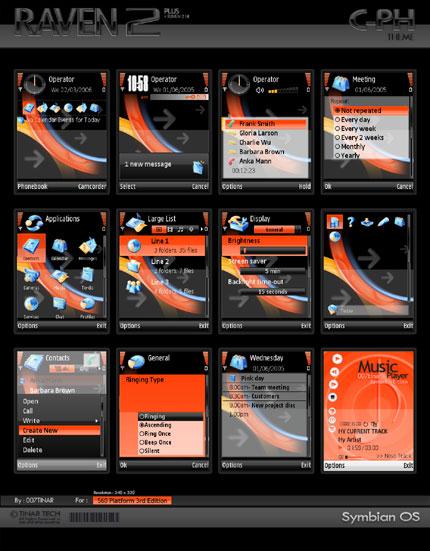 RAVEN 2 PLUS Nokia theme