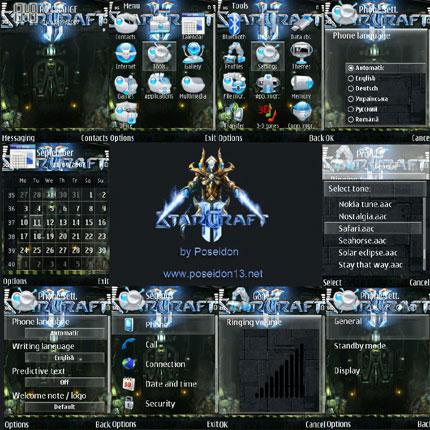 StarCraft II Nokia theme