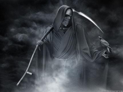 The grim reaper Wallpaper