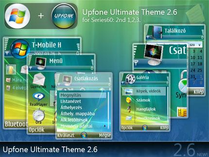 Upfone 2.6 Nokia theme