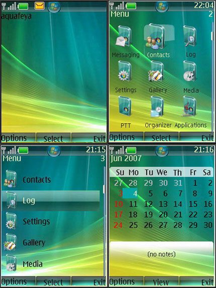 Vista Nokia theme