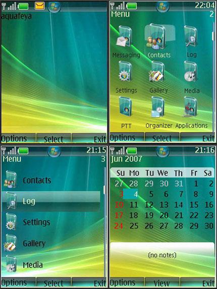 Vista Nokia theme