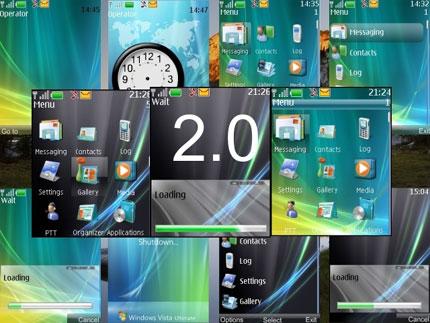 Vista Ultimate 2.0 Nokia theme