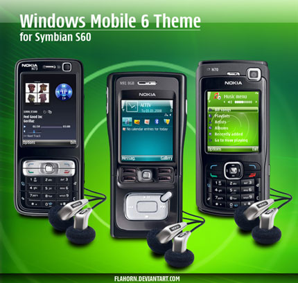 Windows Mobile 6 Nokia theme
