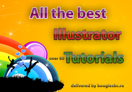 All the best illustrator tutorials tips and techniques - over 80 quality tutorials