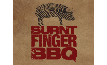 Burnt Finger BBQ logo