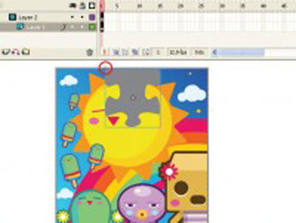 Build a jigsaw puzzle game in Flash