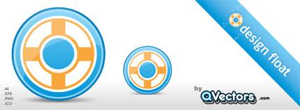 Design Float Circle Icon