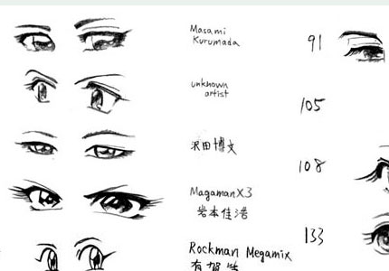 Anime Eyes Female Idem Male