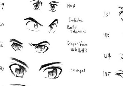Drawing anime: big tutorial collection