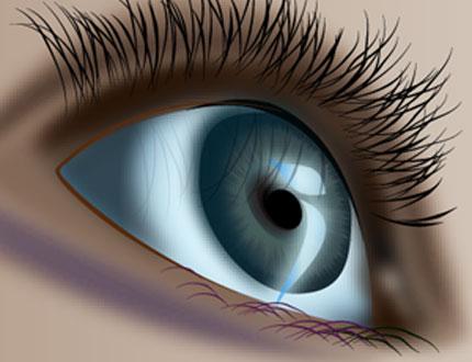 An expressive shining eye tutorial :Part 1