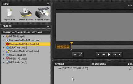 Video Encoding Basics Flash tutorial
