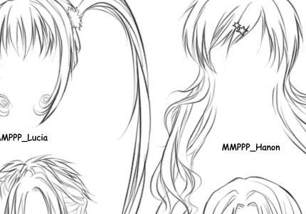 Peachy Anime Hairstyle For Girls Short Hairstyles Gunalazisus