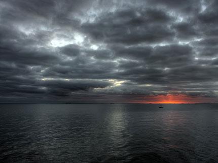 HDR Sunset Wallpaper