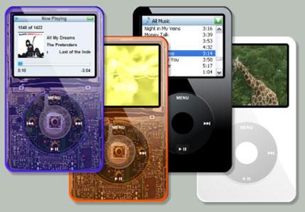 iPod Clear Windows Media Player skin
