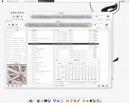 iTunesSnow Windows Media Player skin