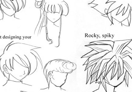Mayshinghair how to draw anime learn to do anime drawings