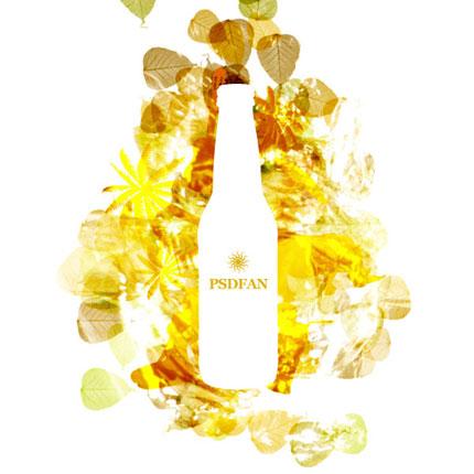 Create a Vibrant Drinks Ad