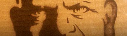 Stencil Illustration