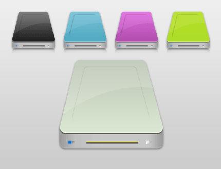 how to change hard drive icon mac