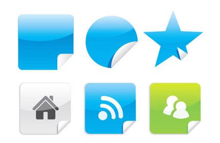 Create Web 2.0 Stickers