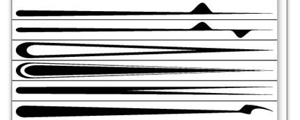 28 Free Illustrator Brushes for making Swooshes and Swirls