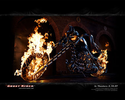 Ghostrider wallpaper 1