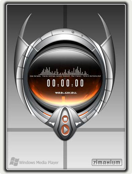 zimanium Windows Media Player skin