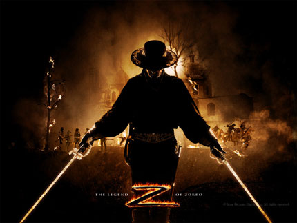 The legend of Zorro wallpaper