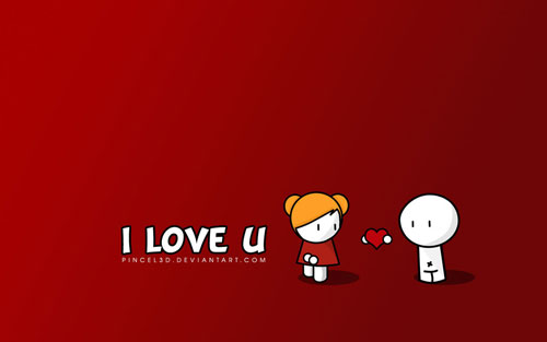 i love u wallpaper. I love vector wallpaper