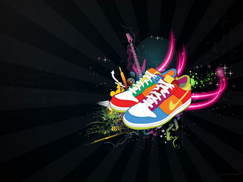 nike wallpaper logo. Nike vector wallpaper